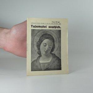 náhled knihy - Tajemství svatých