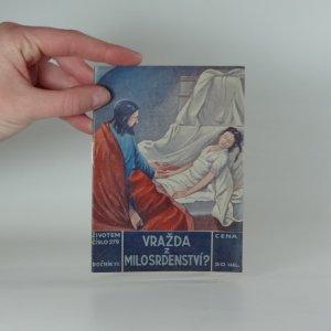 náhled knihy - Vražda z milosrdenství