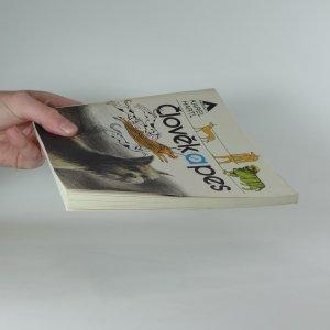 antikvární kniha Člověk a pes, 1986