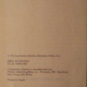 antikvární kniha El diablo cojuelo, 1983