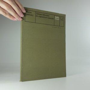 náhled knihy - Záznam informace do organických materiálů