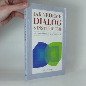 náhled knihy - Jak vedeme dialog s institucemi