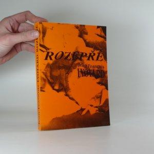 náhled knihy - Rozepře