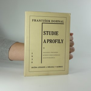 náhled knihy - Studie a profily