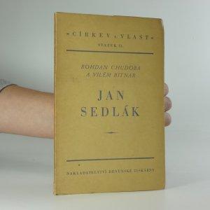 náhled knihy - Jan Sedlák