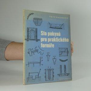 náhled knihy - Sto pokynů pro praktického formíře