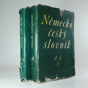 náhled knihy - Německo - český slovník (2 svazky)