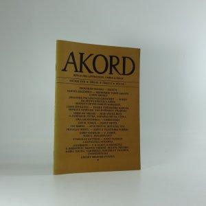 náhled knihy - Akord : Revue pro literaturu, umění a život, ročník XCII, číslo 6