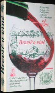 náhled knihy -  Brevíř o víně