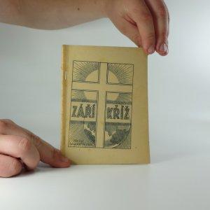 náhled knihy - Září kříž