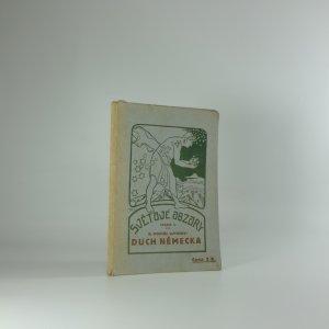 náhled knihy - Duch Německa : výbor z německé poesie