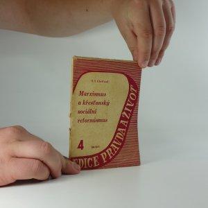 náhled knihy - Marxismus a křesťanský sociální reformismus