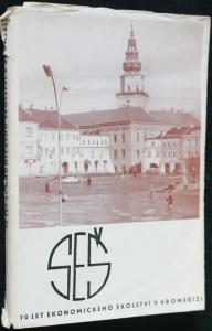 náhled knihy - Sedmdesát let ekonomického školství v Kroměříži