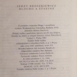 antikvární kniha Dlouho a šťastně, 1985