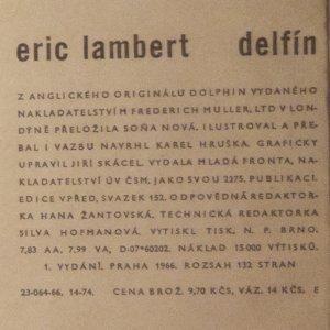 antikvární kniha Delfín, 1966
