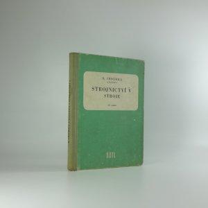 náhled knihy - Strojírenství V. Stroje.