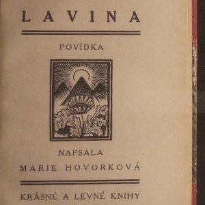 antikvární kniha Lavina, neuveden