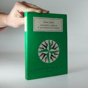 náhled knihy - James Joyce: Portrét umělce v jinošských letech