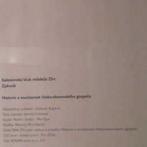 antikvární kniha Zpěvník historie a současnost česko-slovenského gospelu, 2010