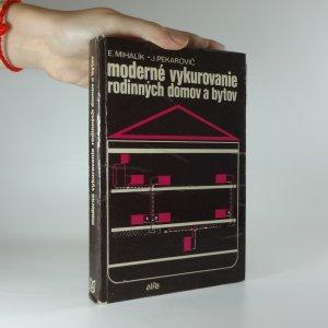 náhled knihy - Moderné vykurovanie rodinných domov a bytov