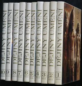 náhled knihy - Dějiny umění 10 sv.