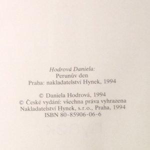 antikvární kniha Perunův den , 1994