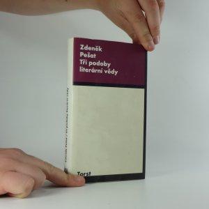 náhled knihy - Tři podoby literární vědy