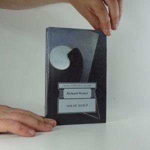 náhled knihy - Solný sloup : výbor z próz