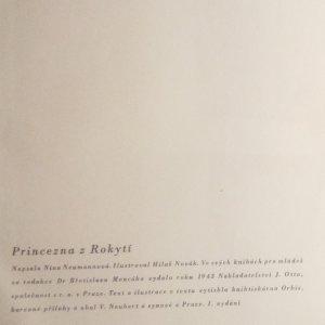antikvární kniha Princezna z Rokytí, 1943
