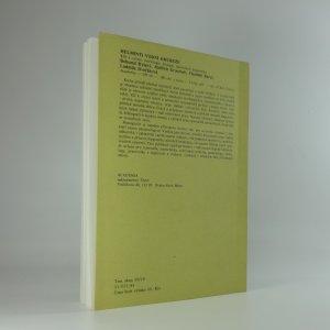 antikvární kniha Parazitózy zvěře, 1984