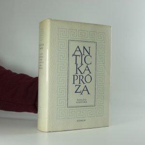 náhled knihy - Antická próza: Dialog a satira