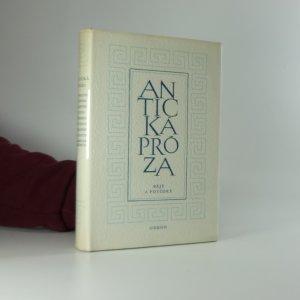 náhled knihy - Antická próza: Báje a povídky