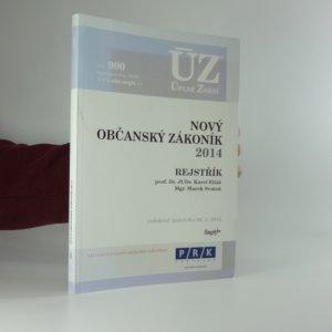 náhled knihy - Nový občanský zákoník 2014 - Úplné znění