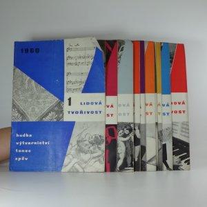 náhled knihy - Lidová tvořivost. Ročník 11. Čísla 1-12 (12 svazků)