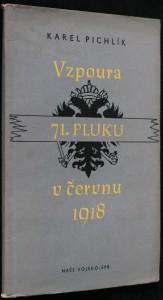 náhled knihy - Vzpoura 71. pluku v červnu 1918