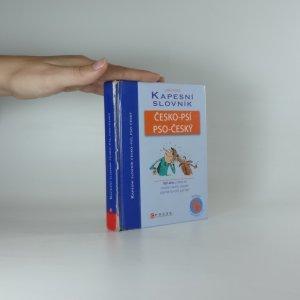 náhled knihy - Kapesní slovník česko-psí, pso-český