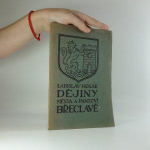 náhled knihy - Dějiny města a panství Břeclavi