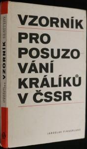 náhled knihy - Vzorník pro posuzování králíků v Československé socialistické republice