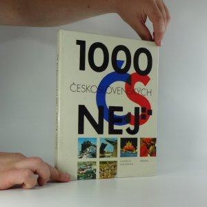 náhled knihy - 1000 československých nej