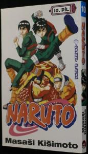 náhled knihy - Naruto 10. díl, Úžasný nindža