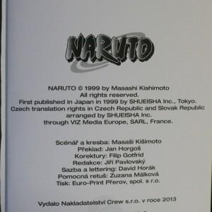 antikvární kniha Naruto. 14. díl, Souboj stínů!!, 2013
