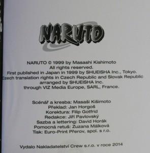 antikvární kniha Naruto. 16. díl, Poslední boj!!, 2014