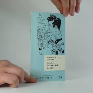 náhled knihy - Jeviště hereckých osudů : vyprávění o lidech od kumštu