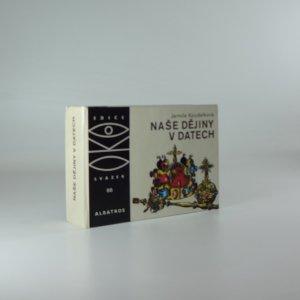 náhled knihy - Naše dějiny v datech