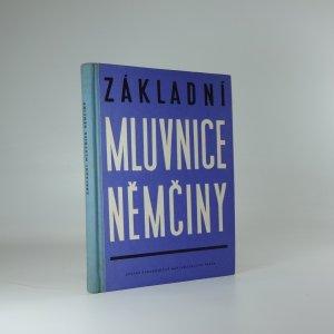 náhled knihy - Základní mluvnice němčiny