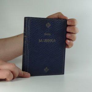 náhled knihy - Marinka a jiné drobné prósy