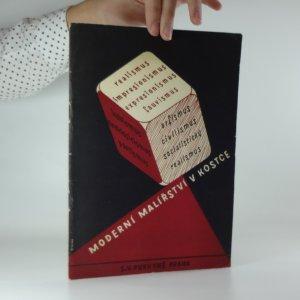 náhled knihy - Moderní malířství v kostce - Od realismu k socialistickému realismu