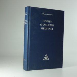 náhled knihy - Dopisy o okultní meditaci