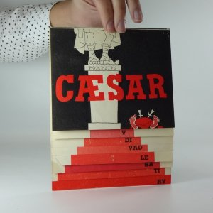 náhled knihy - Caesar - Antická feérie o 10 obrazech