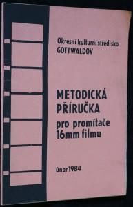 náhled knihy - Metodická příručka pro promítače 16 mm filmu